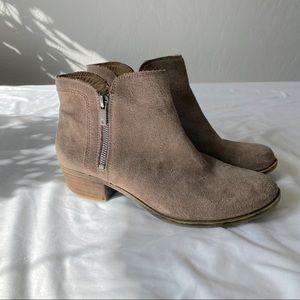LUCKY BRAND - Tan booties